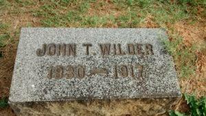 John_Wilder_Gravesite