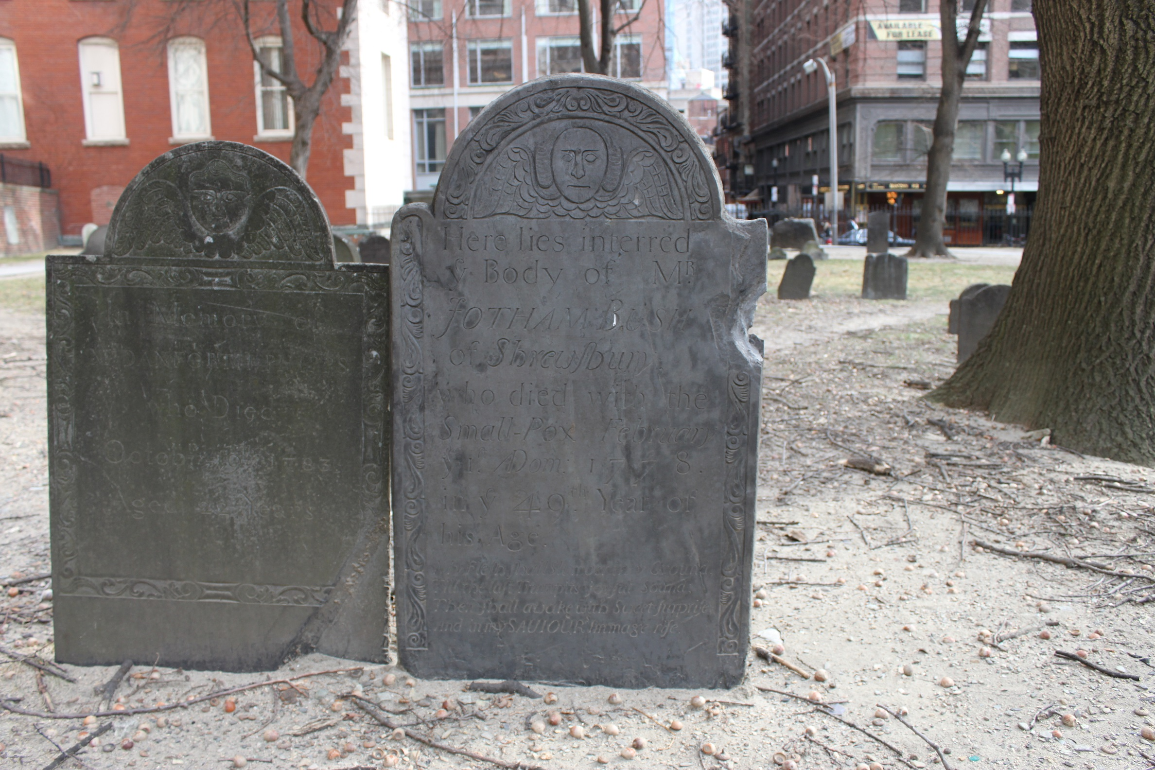 Boston Cemetery Burying Ground