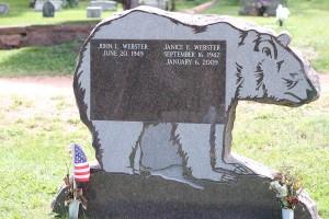 bear tombstone