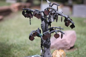 Grave Marker Ornament Tree