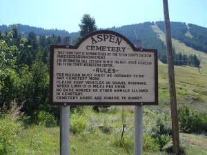 Aspen Hill Cemetery - Jackson Hole, WY