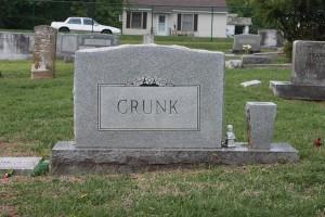 Crunk tombstone