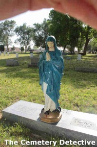 Mary and Snake Grave Marker