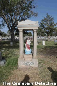 Jesus Grave Marker South Park Cemetery Roswell New Mexico