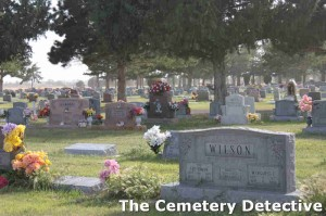 South Park Cemetery Overview - Roswell New Mexico