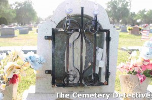 Mary Behind Bars - Grave Stone - South Park Cemetery Roswell New Mexico