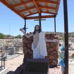 Jesus Grave Marker & Grave Shelter