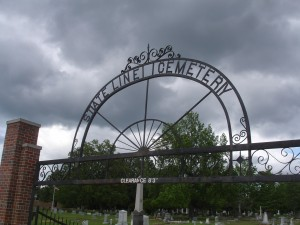 State Line Cemetery - Woodlawn Cemetery - Texarkana Arkansas
