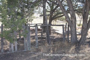 Datil Cemetery Fenced Plots
