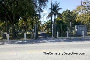 City of Miami Cemetery - Front Gate