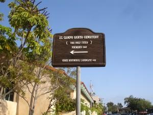 El Campo Santo Cemetery - Old Town San Diego California