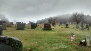 stanford cemetery fog