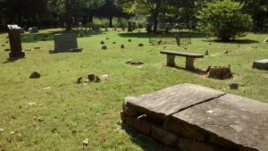 State Line Cemetery Established Early 1800's