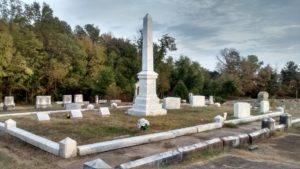 Obelisk in Eastview Cemetery