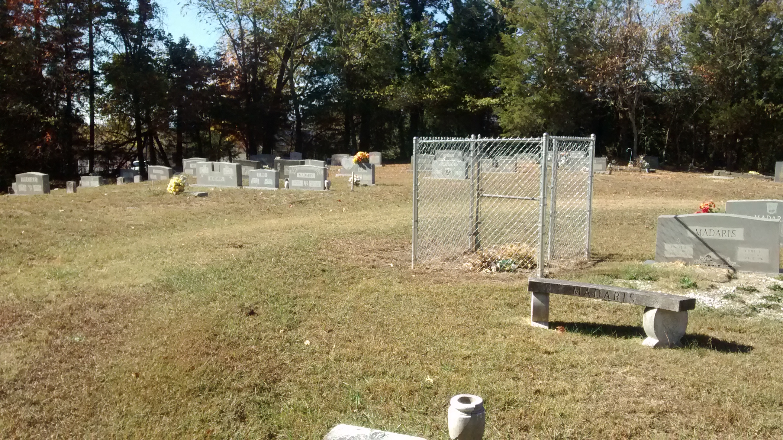 Grand Center Baptist Church Cemetery