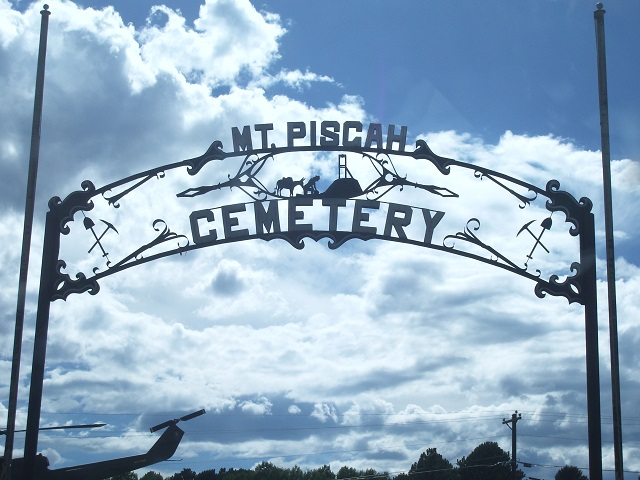 Mt. Pisgah Cemetery Sign