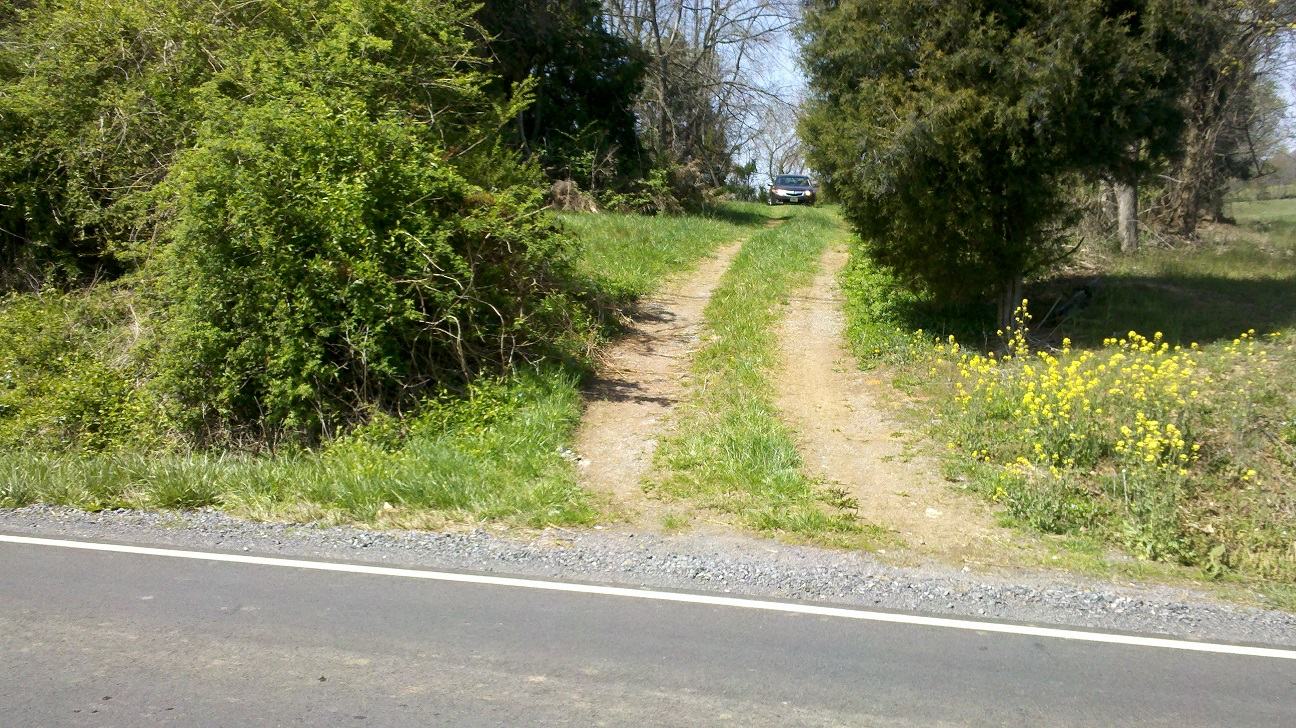 Stanton Cemetery Driveway