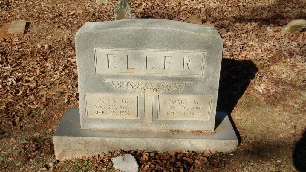 Eller Grave Marker - Fryar Cemetery