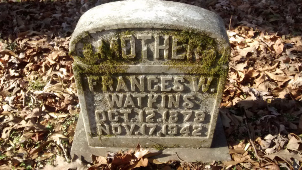 Watkins - Fryar Cemetery