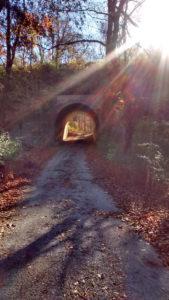 Civil War era tunnel