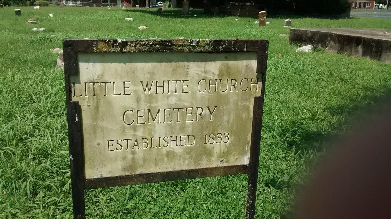 Little White Church Cemetery - Jasper, Tennessee