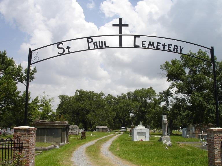 St. Paul Catholic Cemetery - Pass Christian Mississippi