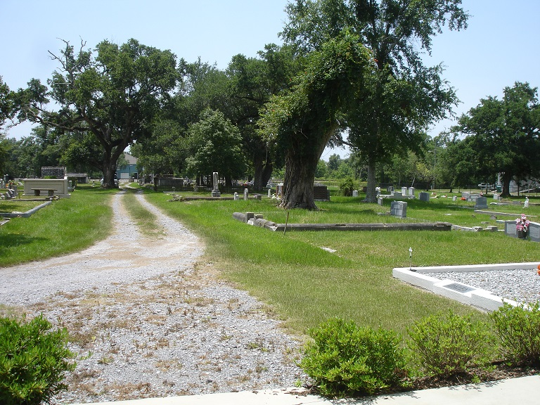 St. Paul Cemetery grounds